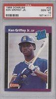 Ken Griffey Jr. PSA GRADED 10 (Baseball Card) 1989 Donruss #33