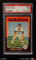 1975 Topps #223 Robin Yount Brewers PSA 7 - NM