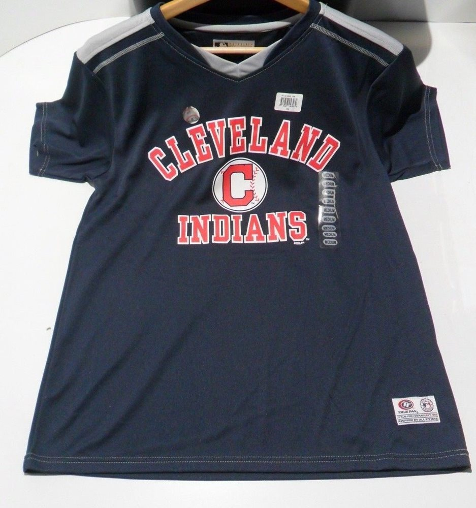 outlet store bcaf0 c2495 Cleveland Indians Jersey by True Fan - Official MLB Merchandise - Choose  Size