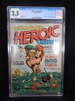 HEROIC COMICS #1 1940, Bill Everett cover & art, origin Hydro-man