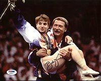 Bela Karolyi USA Gymnastics Authentic Signed 8X10 Photo PSA/DNA #AB40624
