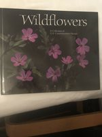 Vintage Stamp Book 1991 Wildflowers Collection of U.S. Commemorative Stamps