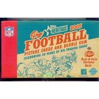 36P10C 2005 Topps Football HOBBY Box