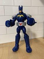 "Batman Attack Armor Light Up Talking 10"" Action Figure Mattel 2014 No Battery's"