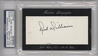 Dick Williams PSA/DNA Certified Auto AUTHENTICATED AUTHENTIC #28/37 (Baseball Card) 2010 Historic Autographs Cut Autographs Hall of Fame & All-Star Edition [Autographed] #DIWI