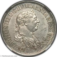 1816 1/2 Guilders Essequibo and Demerary NGC MS62 Essequibo and Demerary