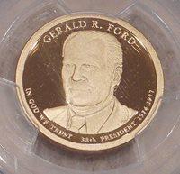 2016 S $1 Gerald Ford Dollar PCGS PR69DCAM First Strike