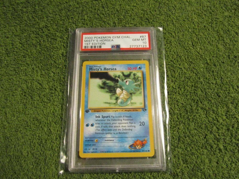 Pokemon Gym Challenge Common Card #87//132 Mistys Horsea
