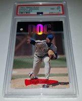0bc2f6e7d4 1993 DONRUSS TRIPLE PLAY #6 DWIGHT GOODEN NICKNAMES CARD PSA 8 NM MINT DOC  eBay (authenticcollectiblesandmore)