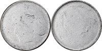 5 Centavos Brasilien Coin, die adjustment strike error, Stainless