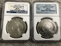 2015-P US Marshals Service Set NGC MS-70!! FIRST DAY & FIRST RELEASE #'s 1 & 2!!
