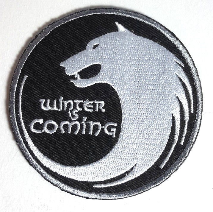 Game Of Thrones Stark House Winter Is Coming Wolf 3 Patch Usa Mailed Gtpa 013