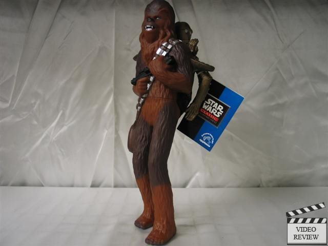 Chewbacca with C3P0 vinyl figure; Applause Star Wars