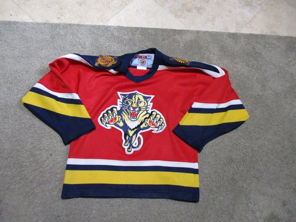 Florida Panthers jersey vtg NHL hockey mesh jersey CCM small medium bUZQv50