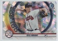 2020 Bowman Scouts Top 100 Chrome Atomic Refractor /150 Kyle Wright #BTP-55