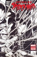 Avenging Spider-Man #1 Cover N Incentive Joe Quesada Sketch Cover With Polybag