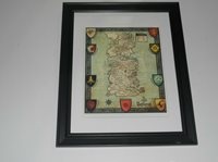 Large Framed Game of Thrones Westeros Map Poster #1 Sta on walking dead map poster, hobbit unexpected journey map poster, gravity falls map poster, game.of thrones s3 poster, supernatural map poster, life map poster, united states map poster, red dead redemption map poster, world of warcraft map poster, community map poster, silicon valley map poster, fallout new vegas map poster, skyrim map poster, dark souls map poster, grand theft auto v map poster,
