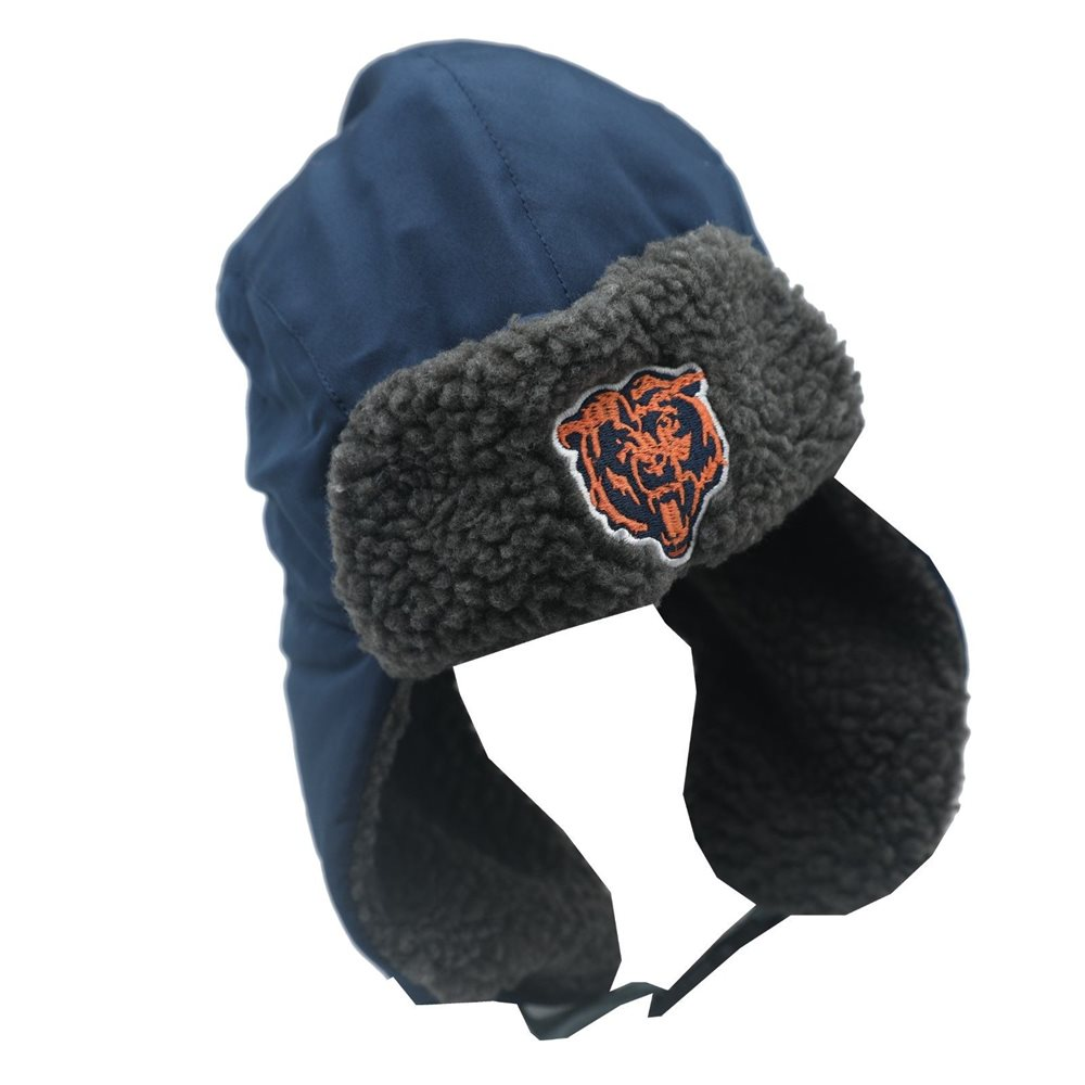 cf38d08d NFL Chicago Bears Youth Boys One Size Fits Most Winter Trapper Hat Cap New  Tags
