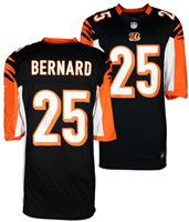 Giovani Bernard Hand-Signed Jersey With Certificate Of Authenticity