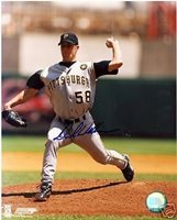 DAVE WILLIAMS PITTSBURGH PIRATES SIGNED 8X10 PHOTO