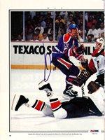 Jari Kurri Autographed Magazine Page Photo Edmonton Oilers PSA/DNA #U93703Jari Kurri Autographed Magazine Page Photo Edmonton Oilers PSA/DNA #U93703