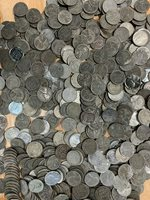 Bag of 1000 Circulated 1943 Steel Pennies P D /& S Mint Marks WWII Wartime Cents