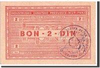 2 Dinara 1941-1944 Kroatien Banknote, Undated