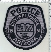 El Mirage Police (Arizona) 1st Issue Subdued Shoulder Patch