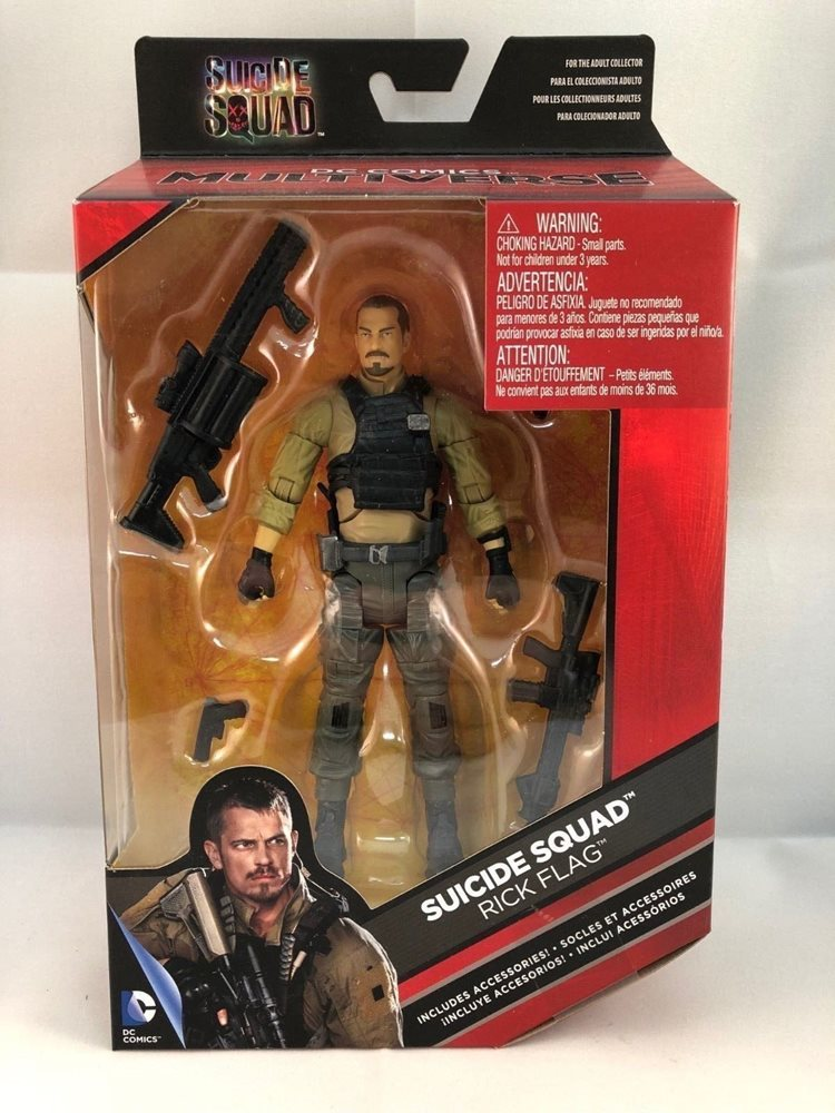 DC Comics Multiverse Suicide Squad Movie Rick Flag Action Figure 6 Inches