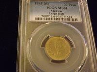 Collectors com - Coins - Estados Unidos Mexicanos - 20 Pesos