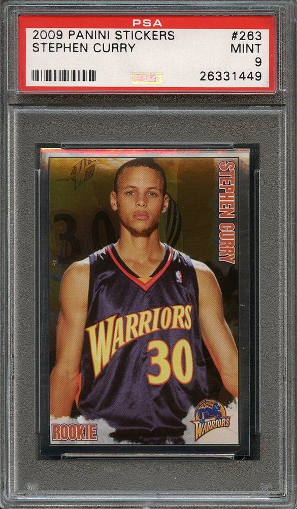 2009-10 Panini #307 Stephen Curry Rookie Card Graded BCCG 10
