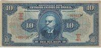 10 Mil Reis Banknote 1925 Brazil