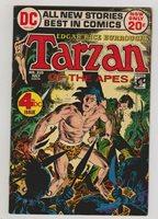 Tarzan #210 VG+ 1972 DC Comics JOE Kubert ART Tarzan Origin   Comic Books - Bronze Age, DC Comics, Tarzan, Jungle