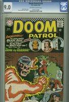 Doom Patrol #110 - March, 1967 - CGC 9.0