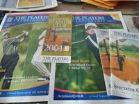 2004 The Players Championship, 2nd & 3rd Round Pairing Sheets, 3rd Round Ticket,