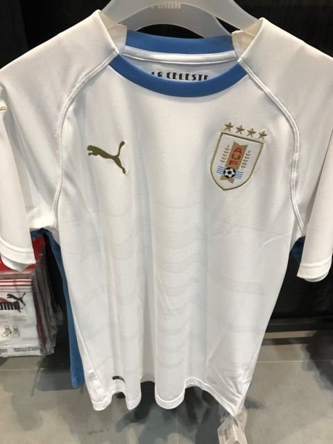pretty nice 04662 71108 Uruguay National Football Team World Cup 2018 Away Jersey, BNWT