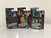Transformers Siege Earthrise Smashdown Rung Soundbarrier Battlemaster Lot MISB