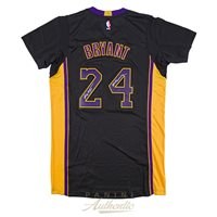 Kobe Bryant Autographed Black Adidas Authentic Jersey with Black Mamba  Inscription ~Limited Edition to 124 83aa21126