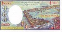 10 000 Francs (1984) Djibouti P 39b