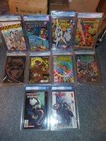 10x Graded Comic Lot CGC CBCS PGX 9.8 9.6 9.4 Venom Marvel DC Image Valiant 1