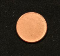 Canada ERROR Coin Blank Planchet Penny Cent 2.25 grams Uncirculated Red 1 One
