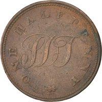 Sainte-Hélène, 1/2 Penny (1821), KM Tn1