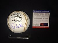 Autographed Al Kaline Ball - Official Gold Glove Hall of Famer - PSA/DNA Certified - Autographed Baseballs