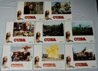 Original 'Cuba' starring Sean Connery, Complete Movie Lobby Card Set 1979