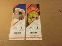 ORIOLES 2019 TICKET STUB 5/10/19-5/12/19 VS ANGELS Mike Trout HR #248 & #249~SGA