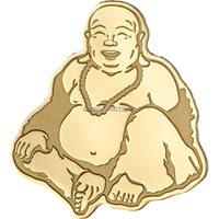 Palau 2017 Laughing Buddha 10 Dollars 2oz Piedfort Silver Coin,Proof