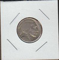 1936 Indian Head or Buffalo (1913-1938) Nickel Good