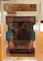2014 Elite extra Edition BGS 9.5 Chase Vallot auto RC /50