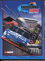 Daytona International Speedway 500 NASCAR Race Program