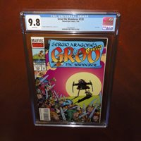 Groo The Wanderer #1 CGC 9.8 NM//MT First Issue Sergio Aragones Marvel Epic 1985